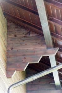Fassade Holz-Chalet-Weggis