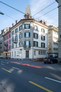Fassade Tribschenstrasse Luzern